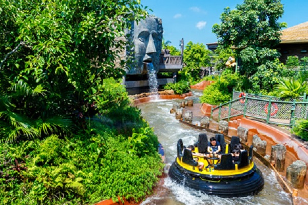 Ocean Park sets a new standard for interactive participation in family water rides