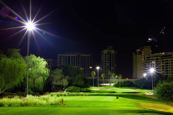 Omega Dubai Moonlight Classic the first professional golf tournament to be played under lights