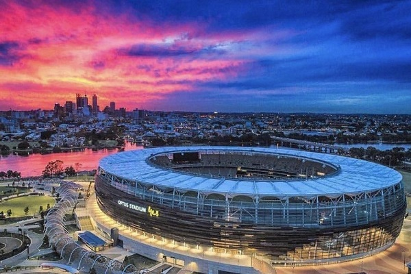 Optus Stadium prepares for AFL fixtures this week