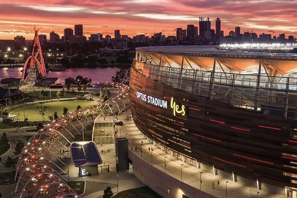 Final plans invited for Perth's new Matagarup Bridge climb, zip-line and Optus Stadium rooftop climb