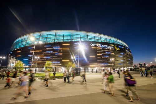 Optus Stadium heralds lasting benefits for Perth