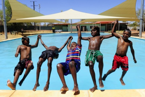 Swimming pools in remote Aboriginal communities provide health and social benefits