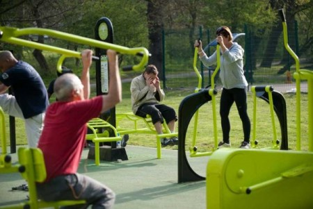 Students to assess benefits of outdoor gyms