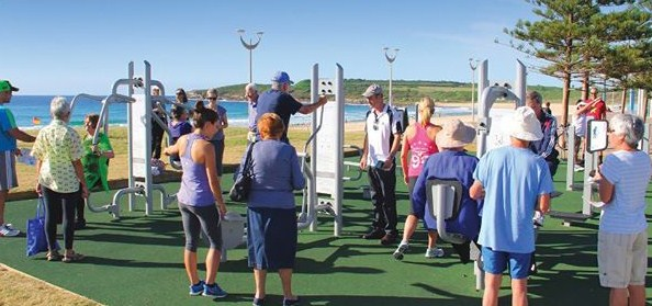 South Eastern Sydney Local Health District takes a lead with advice on outdoor gyms