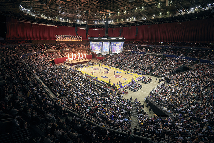 The P.A. People deliver ground-breaking BOSE loudspeaker system for Sydney Kings
