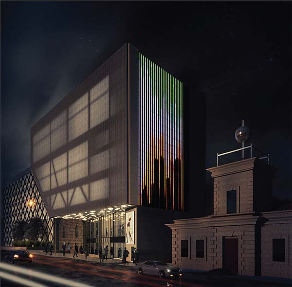 Major installation set to light up Geelong Performing Arts Centre