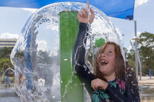 Parkequip aquatic playground installation revitalises Liverpool park