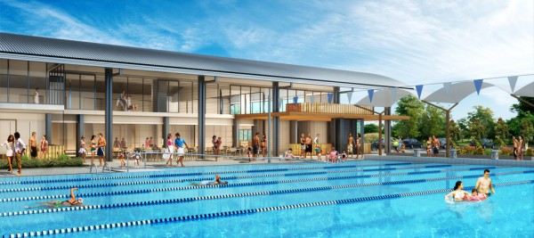 Works advance on new City Venue Management aquatic facility in Brisbane