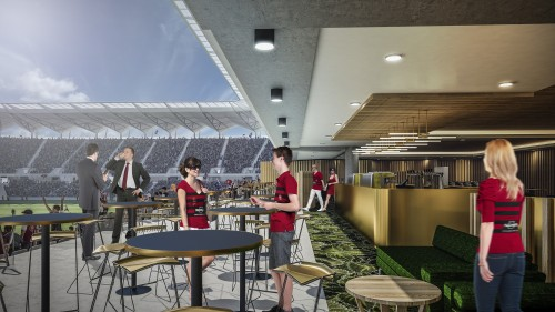 Western Sydney Stadium will allow fans to make F&B purchases without missing the game