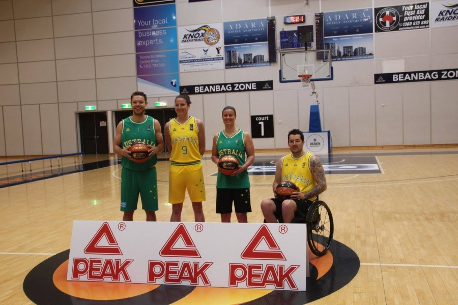 Peak Sport to equip Basketball Australia through to 2020