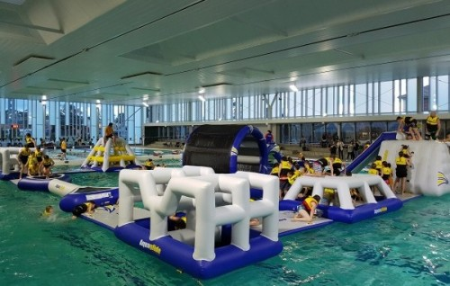 Peninsula Aquatic Recreation Centre introduces 'Splashy McSplash Town'