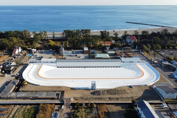 American Wave Machines reveal near completion of Surf Stadium Japan facility