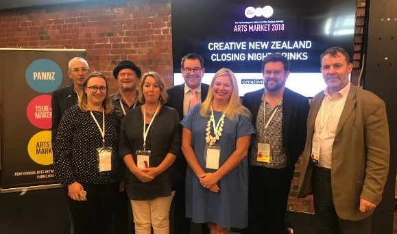 Increase in professional theatre, music and dance in New Zealand communities