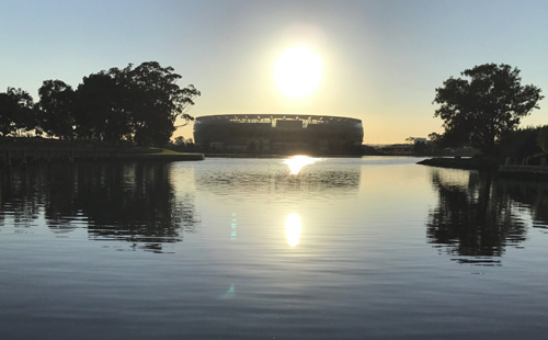 One Day cricket international to be first sporting fixture at Perth's Optus Stadium