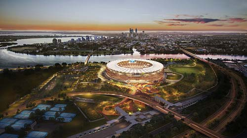 New Perth Stadium to host NRL State of Origin in 2019