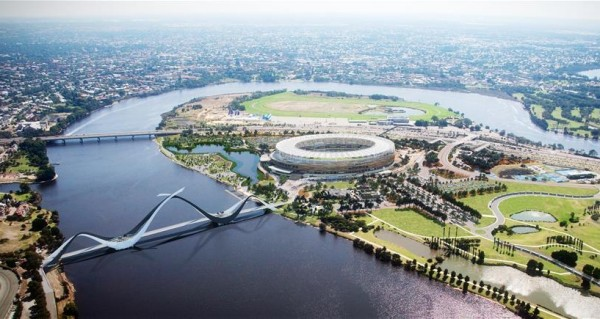 NRL double header set to be first sporting contest at new Perth Stadium