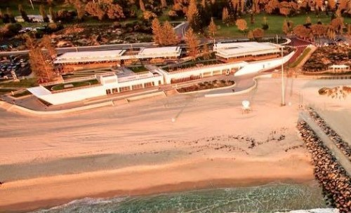 New City of Perth Surf Life Saving Club opened by Western Australian Premier