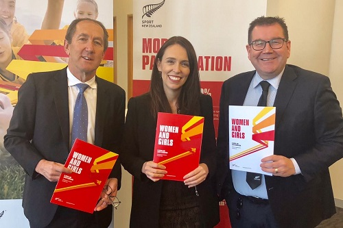 Prime Minister Jacinda Ardern launches Sport NZ Strategy for Women and Girls in Sport and Active Recreation