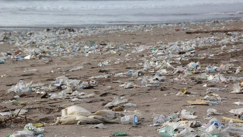 Swamped with marine garbage, popular Bali beaches require massive daily clean up