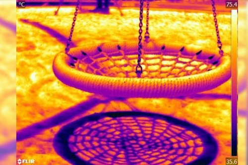 Western Sydney University scientist creates star rating for playground heat performance