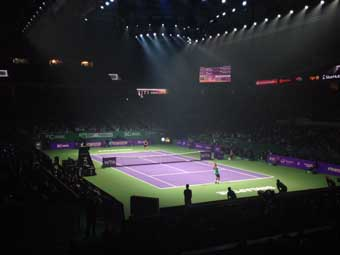 California Sports Surfaces celebrates court success at WTA Championships in Singapore