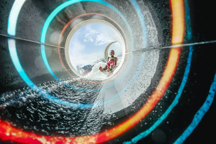 Polin introduces world first fully transparent Composites Waterslide