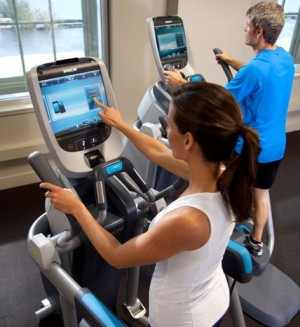 Precor's Preva system provides massive source of in-gym workout data