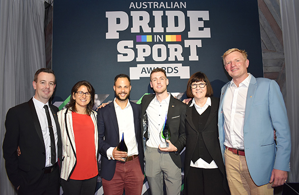 Sporting clubs and organisations recognised for LGBTQ inclusion