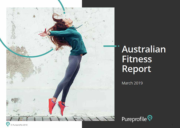Pureprofile research reveals behaviours, habits and motivations behind fitness