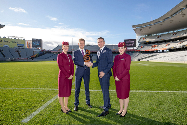 Qatar Airways named official airline partner for Auckland's Eden Park