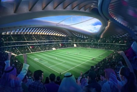 Qatar advances stadium cooling technology
