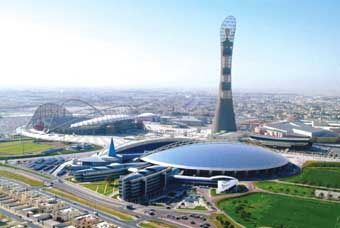Qatar hosts a growing number of international sporting events