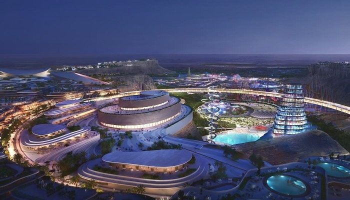 Masterplan revealed for Saudi Arabia's entertainment and sport city giga-project
