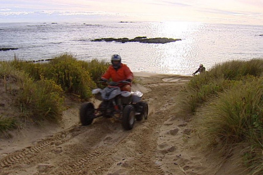 Quad bikers defy track bans in Tasmania's remote conservation areas