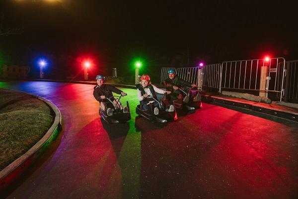Skyline Queenstown launches Night Luge experience