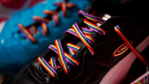 Free Rainbow Laces distribution boosts ongoing campaign for inclusion in sport