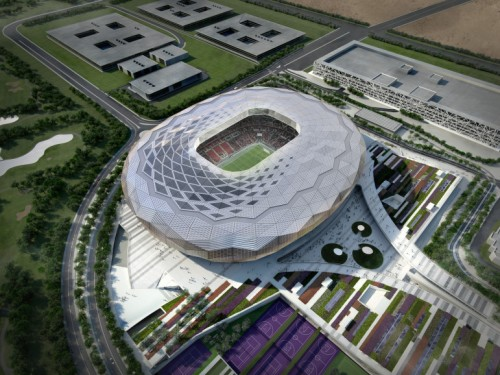 Building towards green stadiums for the FIFA 2022 Qatar World Cup