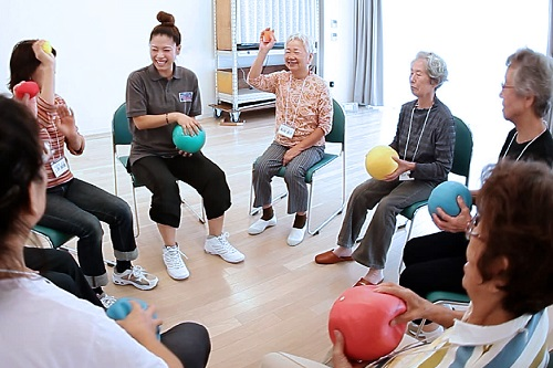 Japanese fitness group to share expertise in dementia prevention across Asia
