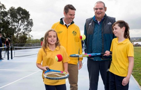 Tennis Cares Initiative delivers new Hot Shots courts in Melbourne