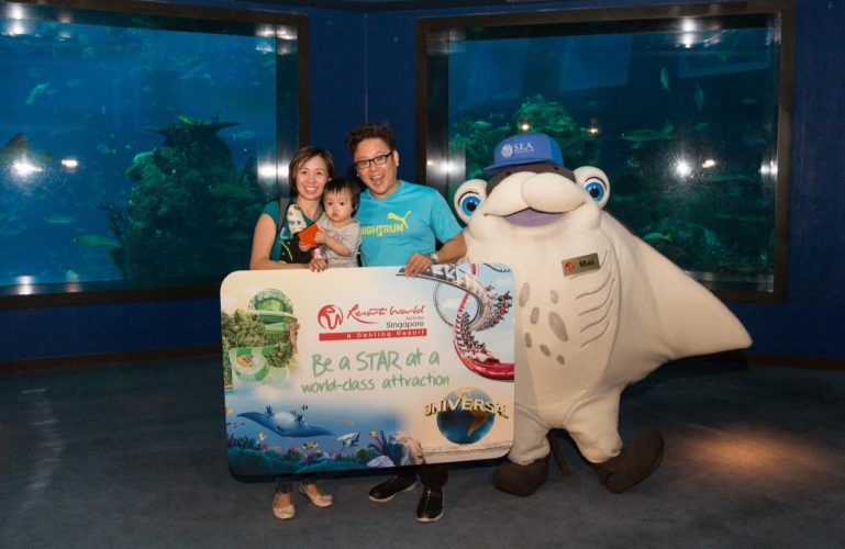 Resorts World Sentosa's S.E.A. Aquarium Welcomes 10 Millionth Visitor