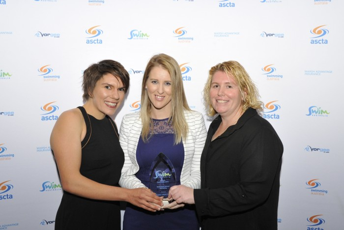 Ripples Leisure Centre wins Swim Australia national award