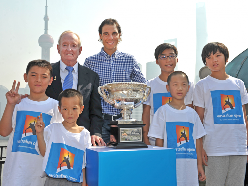 Gemba Chief Executive calls for a fifth tennis Grand Slam in China