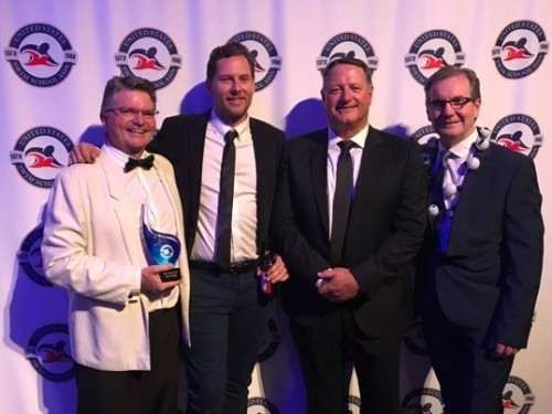 Australian Swim Schools Association's Ross Gage honoured with prestigious international award