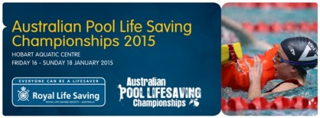 Australian Pool Life Saving Championships underway in Hobart