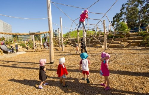 Nature Play at Melbourne's Royal Park named Australia's top playground
