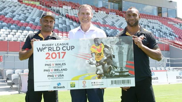 Rugby League World Cup to offer 'family friendly' ticket prices for PNG