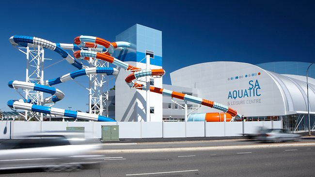 Polin Supplies Waterslides for SA Aquatic and Leisure Centre