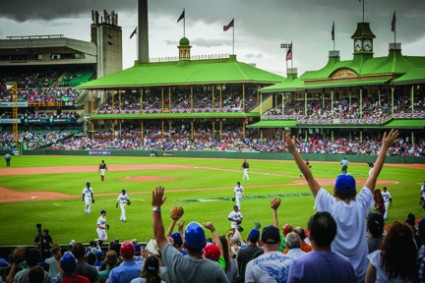SCG hosts successful Major League Baseball season opener