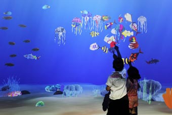 SEA LIFE Melbourne Aquarium unveils all-new Art Aquarium
