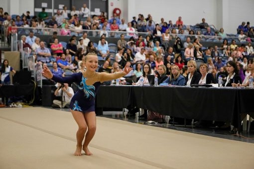 Gymnastics welcomes recognition as top 10 participation sport for children